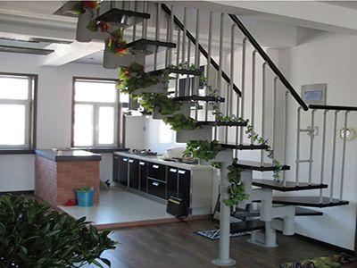 缩颈楼梯安装方法-霸州华丰钢木楼梯厂