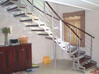 个性化双梁楼梯